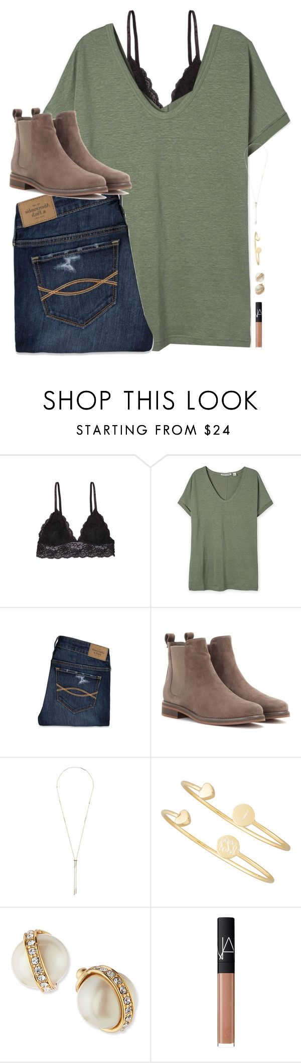 """""""{ set goals that scare &I excite you at the same time! }"""" by shannaolo ❤ liked on Polyvore featuring Humble Chic, Abercrombie & Fitch, Loro Piana, Kendra Scott, Sarah Chloe, Kate Spade, NARS Cosmetics, women's clothing, women and female"""