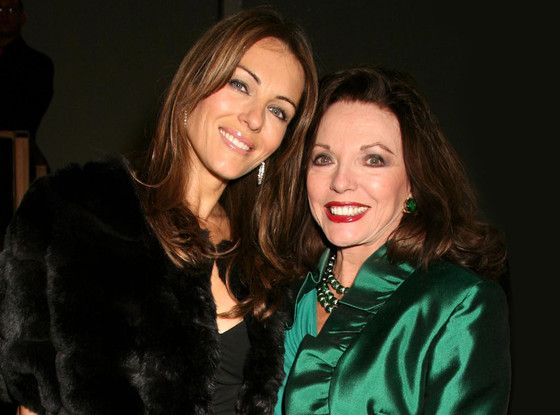 Best. Casting. Ever: Joan Collins to Play Elizabeth Hurley's Mother on The Royals  Elizabeth Hurley, Liz Hurley, Joan Collins