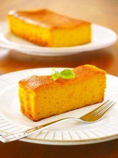 ハロウィン♪かぼちゃのチーズケーキ