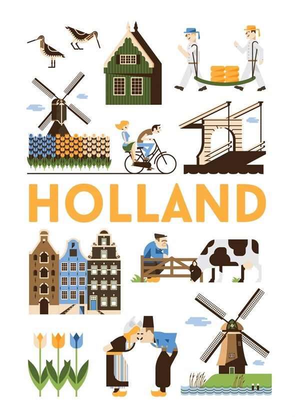 Poster Holland