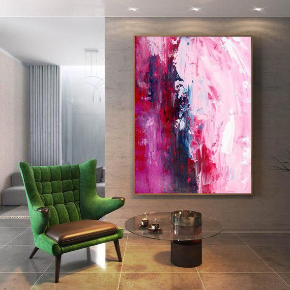 Original Living Room Art Original Canvas Art Modern Abstract Etsy Living Room Art Large Modern Wall Art Modern Wall Canvas #nice #paintings #for #living #room