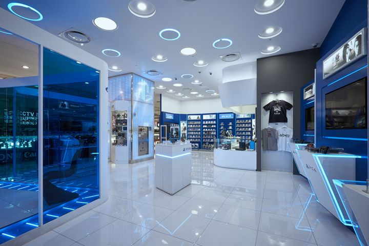 Sony PlayStation shop by studio IMA Seoul  South Korea