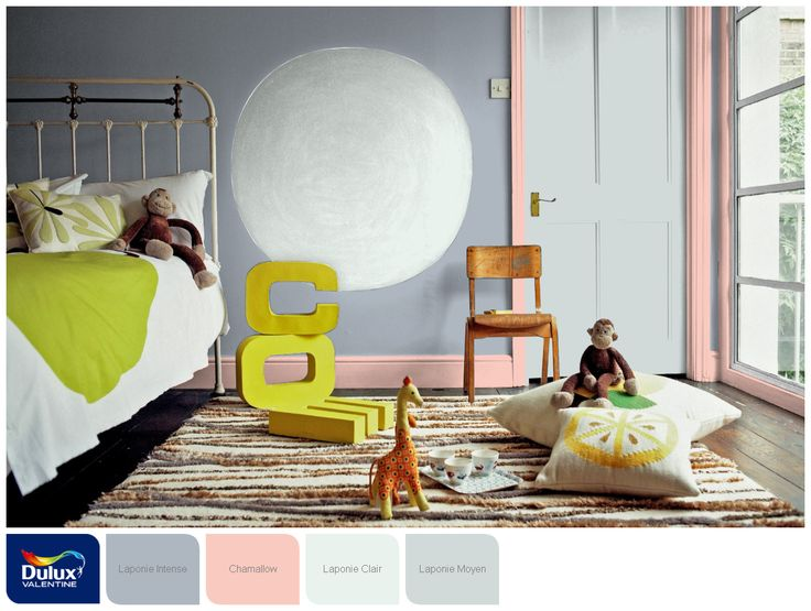 116 migliori immagini for my baby room su pinterest for Lin clair dulux valentine