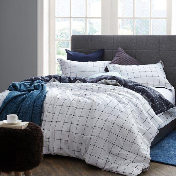 Brigette 100 Cotton Reversible Bedding Set Allmodern Bedding Sets Bedding Sets Master Bedroom Bed Linens Luxury