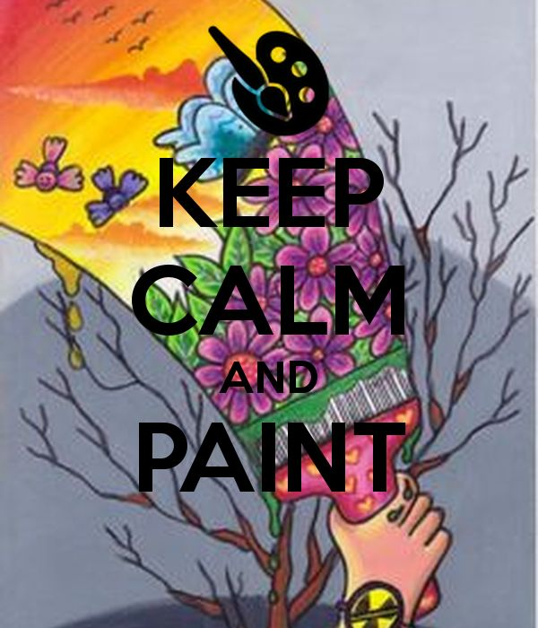 click and READ | KEEP CALM AND PAINT