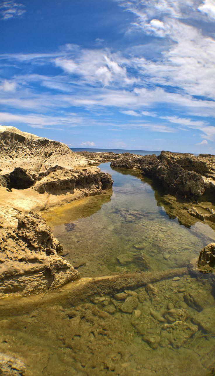 Stream Into The Blue Sky - Pagudpud Philippines - [3008x5258] [OC]