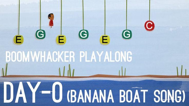 Day-O (The Banana Boat Song) - Boomwhackers
