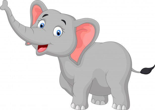 Dibujos Animados De Elefante Feliz Vecto Premium Vector Freepik Vector Bebe Imagenes De Elefantes Animados Elefante Feliz Dibujo De Animales