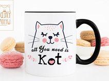 Kubek All You need is Kot