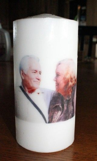 Do It Yourself Candle Image Transfers! Perfect for Mother's Day! | DiscountQueens.com