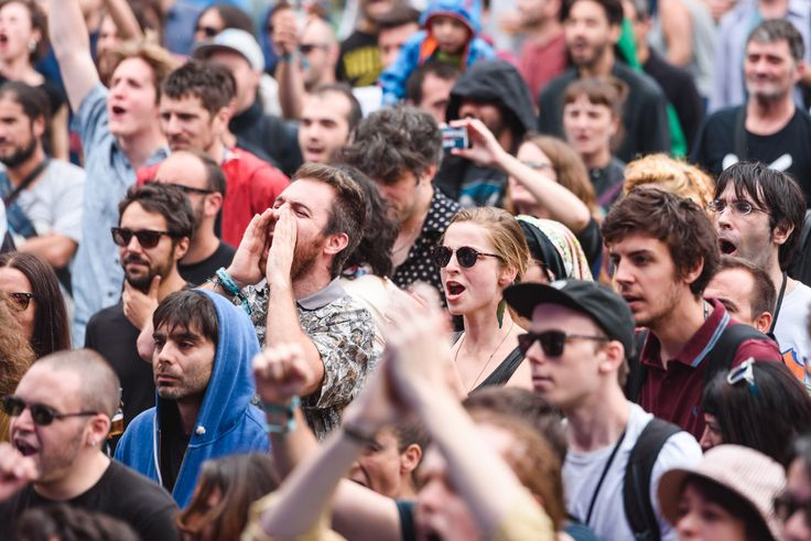 Passion on display in the crowd at Sónar by Day