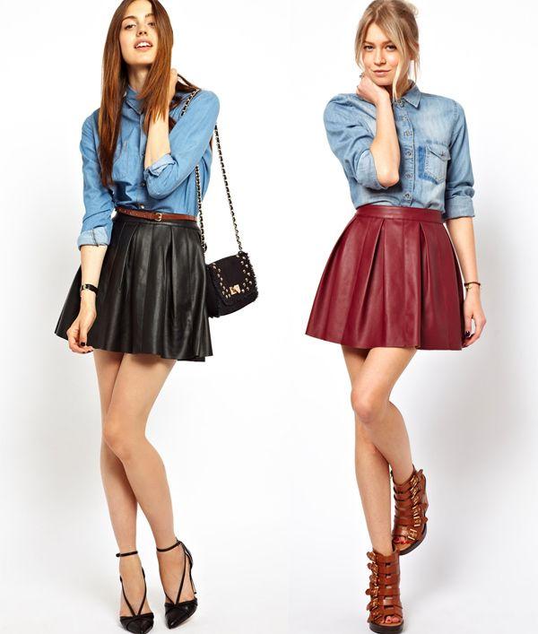 """Définition : c'est une jupe froncée à la taille, ample, légère et – comme on patine moins bien avec un bout de tissu qui vous entrave les jambes – la """"vraie"""" jupe patineuse est forcément courte, c'..."""