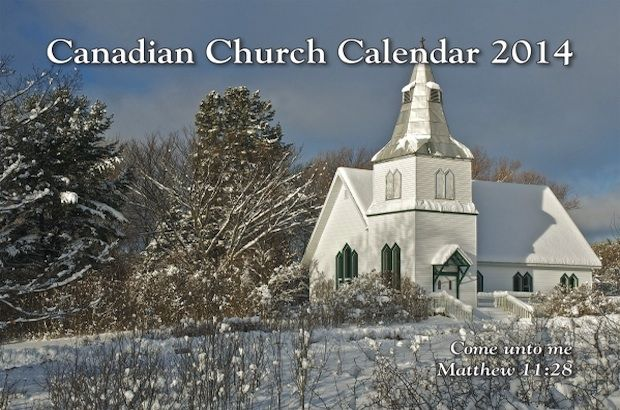 2014 church calendar now available