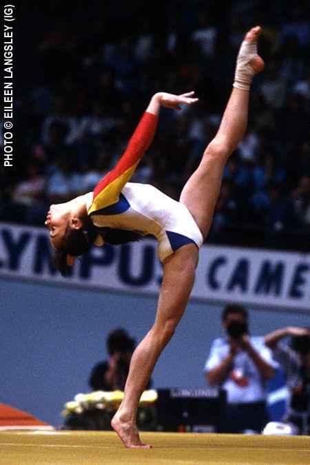 Aurelia Dobre gymnast