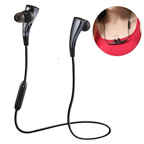 Special Offers - Bluetooth V4.1 Headset [Magnetic Design] Necklace Wireless Sport Stereo Headphones Noise Cancelling Earbuds for Running Gym Exercise with A2DP/APT-X - In stock & Free Shipping. You can save more money! Check It (October 23 2016 at 02:02AM) >> http://ift.tt/2eaXFzQ