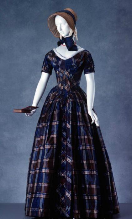 Day dress ca. 1840-1850