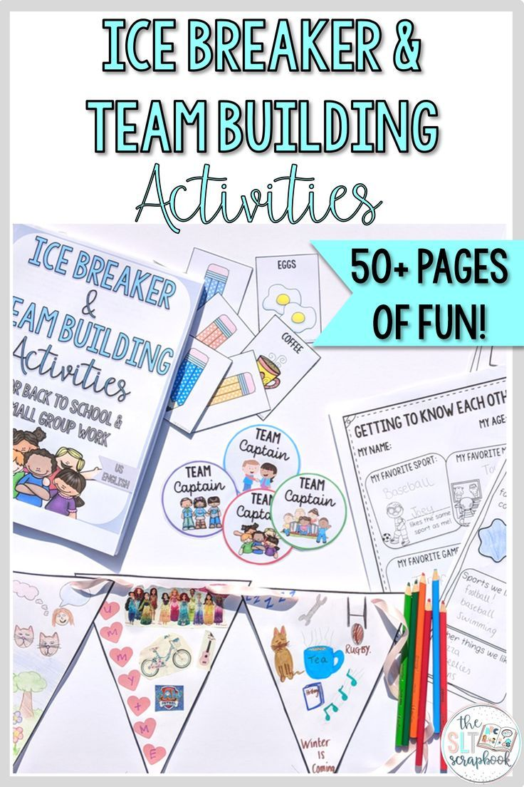 Are You Looking For Some Team Building Group Cohesion Activities Ready For Back To School Time Or You Social Skills Groups Afterschool Activities Social Skills