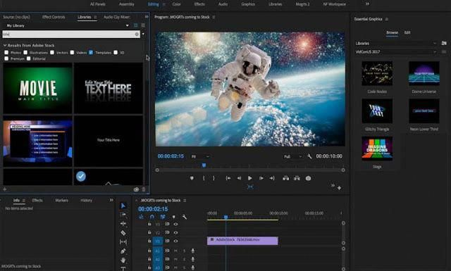 adobe after effect video editor free download