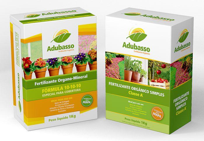 Criamos o nome da marca, o logo e a linha das embalagens para fertilizante para os diferentes usos e aplicações.
