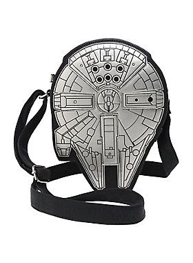 Out of this world crossbody bag // Loungefly Star Wars Millenium Falcon Crossbody Bag