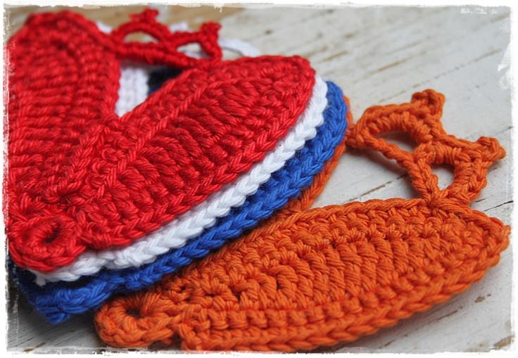Rood, wit, blauw en oranje