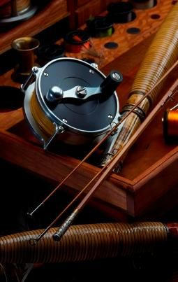 Fly rod, by Oyster Bamboo.  http://www.annabelchaffer.com/categories/Country-Pursuits/Fishing/