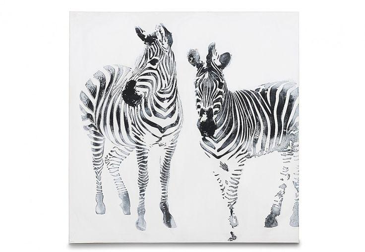 Stripes Canvas 100cm x 100cm   Super Amart