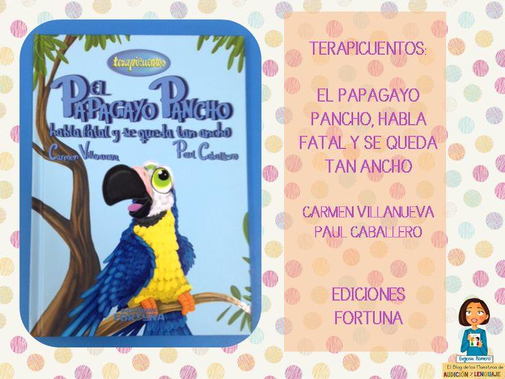Cuento para contar en los talleres de estimulación del lenguaje en los talleres de Educación Infantil sobre las dislalias. http://blogdelosmaestrosdeaudicionylenguaje.blogspot.com.es/2014/05/terapicuentos-el-papagayo-pancho-habla.html