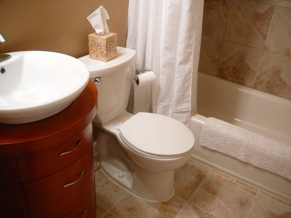 Bathroom Color Schemes For Small Bathrooms 74 best bathroom & powder room ideas images on pinterest