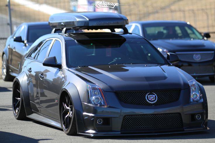 Canepa Cts V Wagon Black Cars Pinterest Cadillac