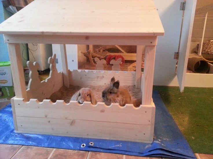 Brilliant bunny sand pit!   rabbit toys   rabbit sand pit