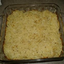 Old Fashioned Potato Kugel Allrecipes.com  This one was a real winner. It won't last until Purim. I'll have to make another one.