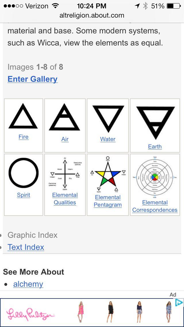 32 Best Elements Symbols Images On Pinterest Sacred Geometry