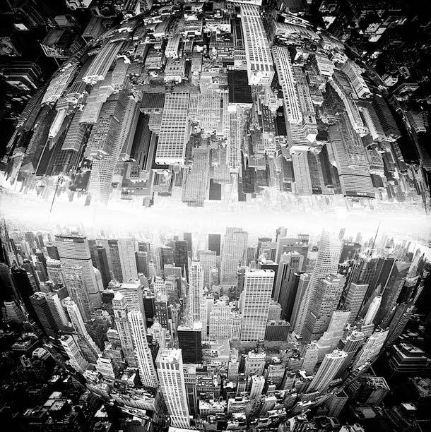 Inception Cityscapes – Villes surréalistes par Brad Sloan (image)