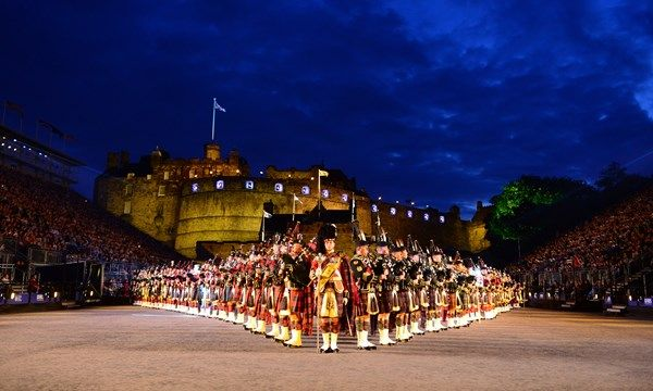 August 2018: The Royal Edinburgh Military Tattoo: Photo Gallery