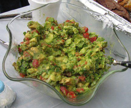 Chunky Avocado Salad - Guacamole Salad | yummy food | Pinterest