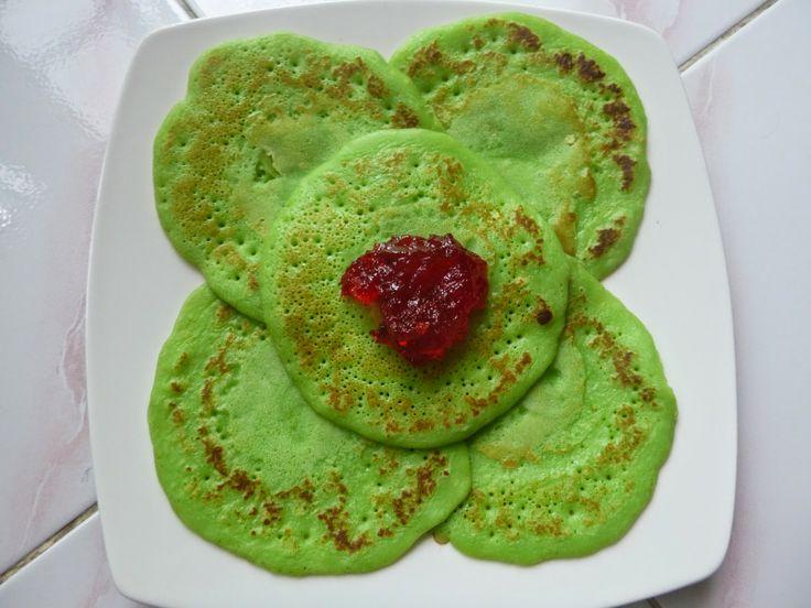 Masak Ala Mom Nayla: Pancake Aroma Pandan