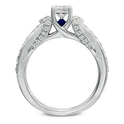 Radiant with 1 CT. T. W. of diamonds.