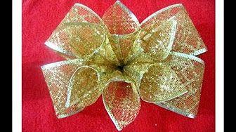 Fabrication d'une rose en collant / Nylon Rose - YouTube