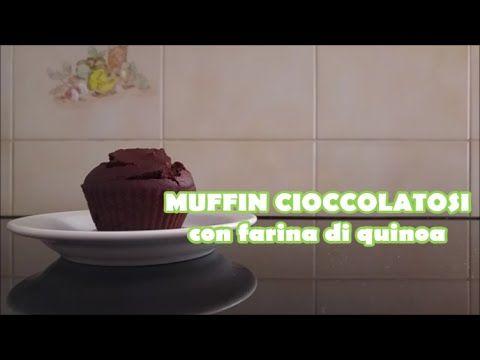Muffin cioccolatosi con farina di quinoa, senza burro (in 3 minuti) - YouTube