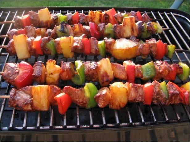Weigh-Less Hawaiian Skewers