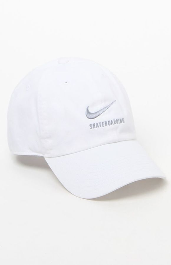Nike SB H86 Twill White Strapback Dad Hat