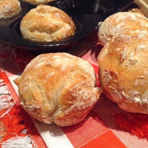 Als ich diese Baguette-Muffins bei Instagram zeigte , fragte ich, ob sie Baffins oder Muguettes heißen sollen, und die Mehrheit hat gesproch...