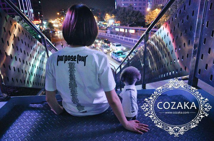 ヴェトモン ロゴtシャツ 犬とのペアルック Vetements 犬服 半袖 ブラック ホワイト 2色有 ストリート ドッグウェア ペットウェア ペアルック ロゴtシャツ ロゴt