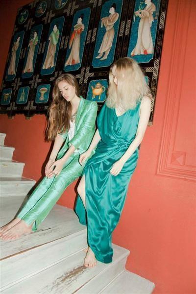 Chocolate nos trae el nuevo color de moda: verde esmeralda
