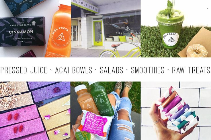Cultured Food Dining: Soulpress Juice: Offers cold pressed juices, acai bowls, raw donuts and kombucha on tap! Location: Victoria, Australia