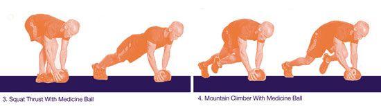 Heidi Klum workout