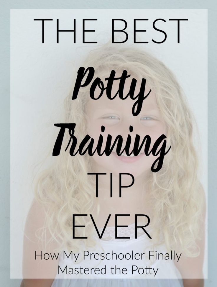 Best Potty Training Tip Ever- potty training toddlers