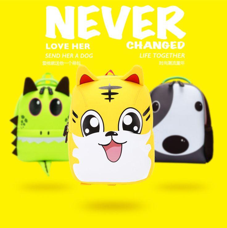 cute cartoon Neoprene other Children bag (yellow)NHKX0011-yellow