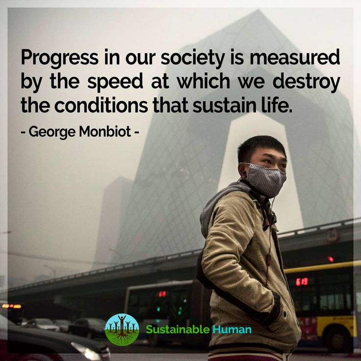 The more we grow the economy, the more resources we use. Our way of life is completely unsustainable #ParadigmChange